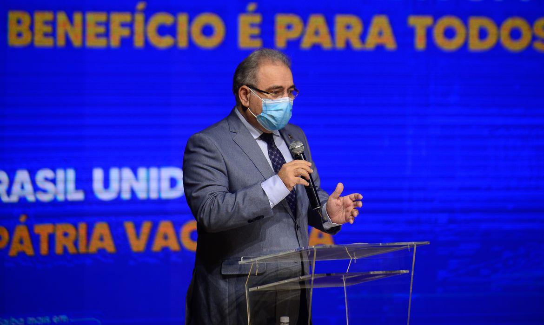 Ministro da Saúde: Queiroga diz que estuda campanha de testagem contra covid