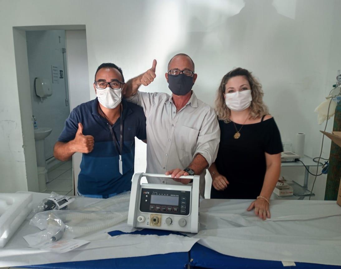 Mais SAÚDE: Havan doa segundo respirador para Barra Velha