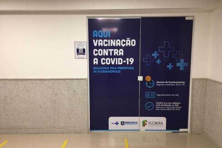 Vacina INFLUENZA: Ponto fixo do Floripa Shopping estará fechado nesta segunda-feira