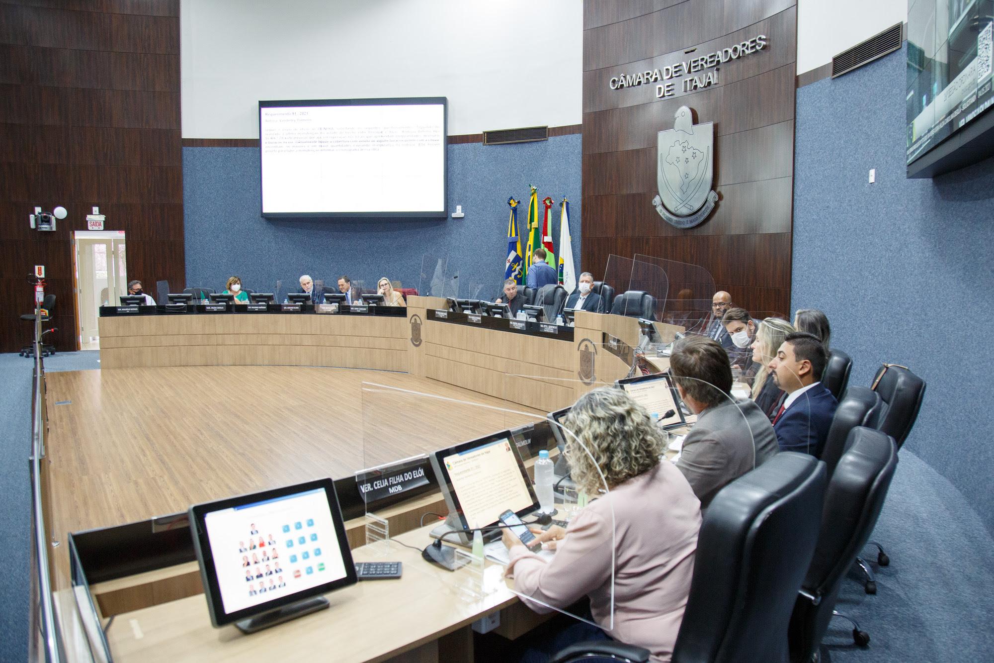 Câmara Itajaí: vai destinar  R$ 1,5 milhão para combate à pandemia, os recursos são provenientes da União e também do superávit financeiro do Município em 2020