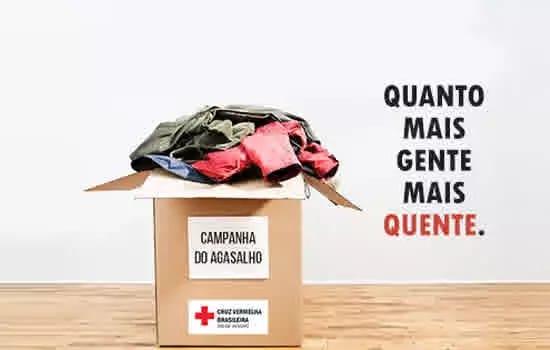 """Juntos Vamos """"Vencer o Frio"""": Cruz Vermelha faz campanha do agasalho em São Paulo"""