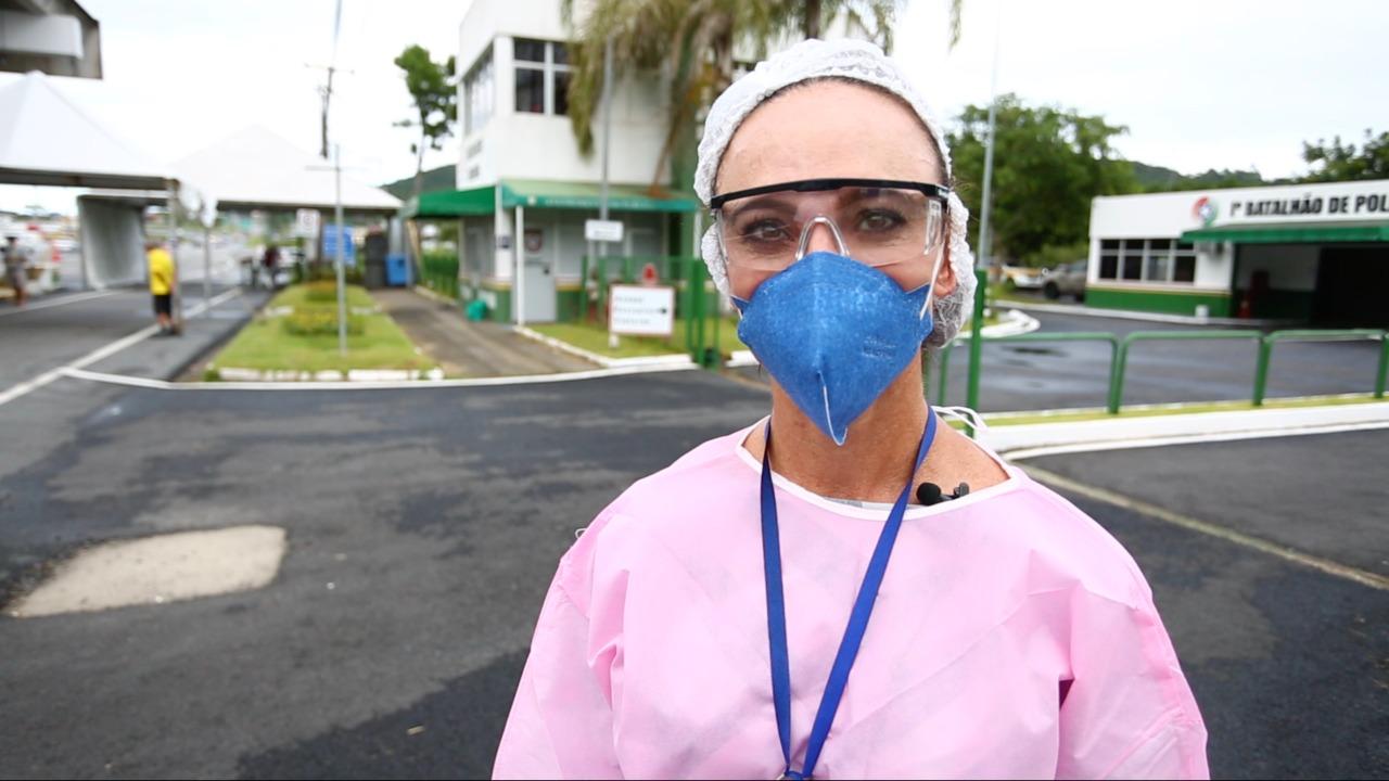 """""""A Frente da Média Nacional"""": Florianópolis atinge 200 mil pessoas vacinadas contra Covid-19"""