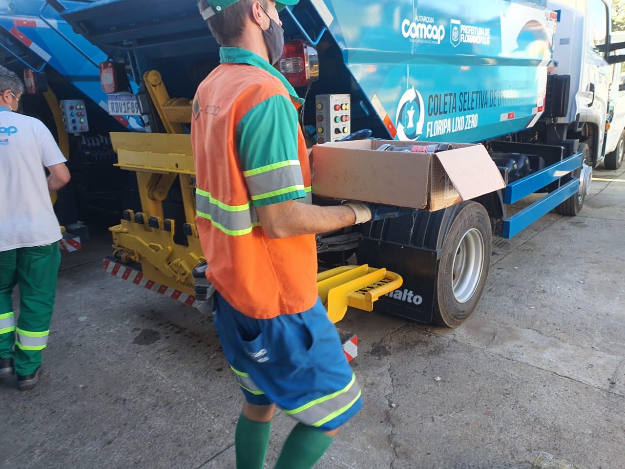 """""""Lixo Zero 2030"""": Floripa avança para coleta porta a porta em quatro frações"""