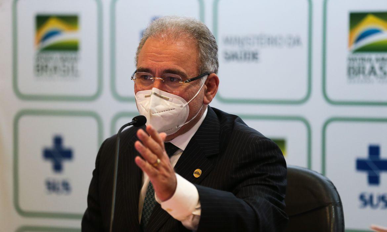 Campanha Vacinação: Ministro diz que 160 milhões serão vacinados até dezembro no Brasil