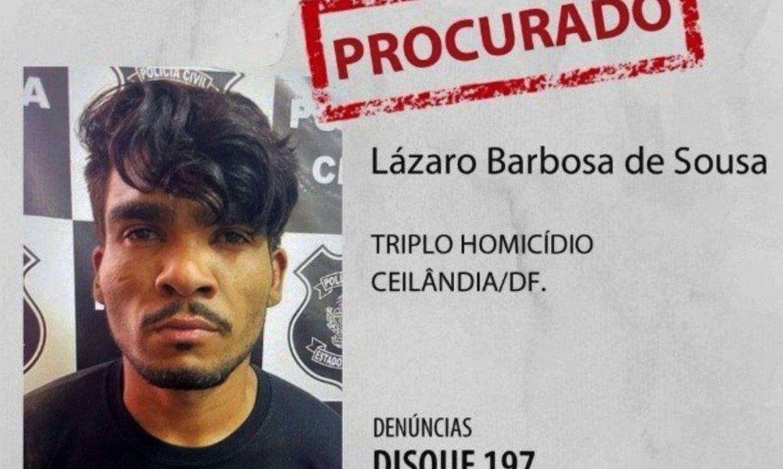 """""""Fugitivo"""": Notícias falsas prejudicam buscas por Lázaro Barbosa, diz secretário"""