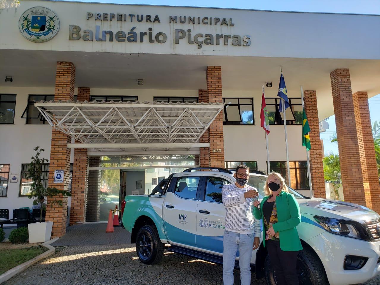 Projeto Recicla Aí: IMP recebe pick-up zero quilômetro para ajudar nas atividades externas