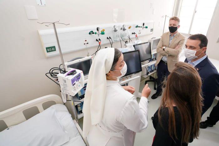 """Obras no""""Marieta"""": Deputada Paulinha solicita a viabilização de recursos para a conclusão da obra no Hospital e Maternidade Marieta Konder Bornhausen"""