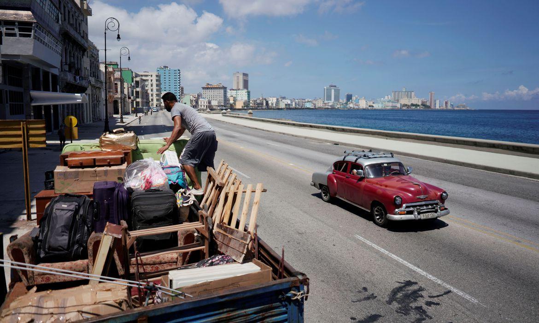 """""""Alerta de Furacão"""": Tempestade tropical Elsa ganha força em direção ao centro-sul de Cuba"""