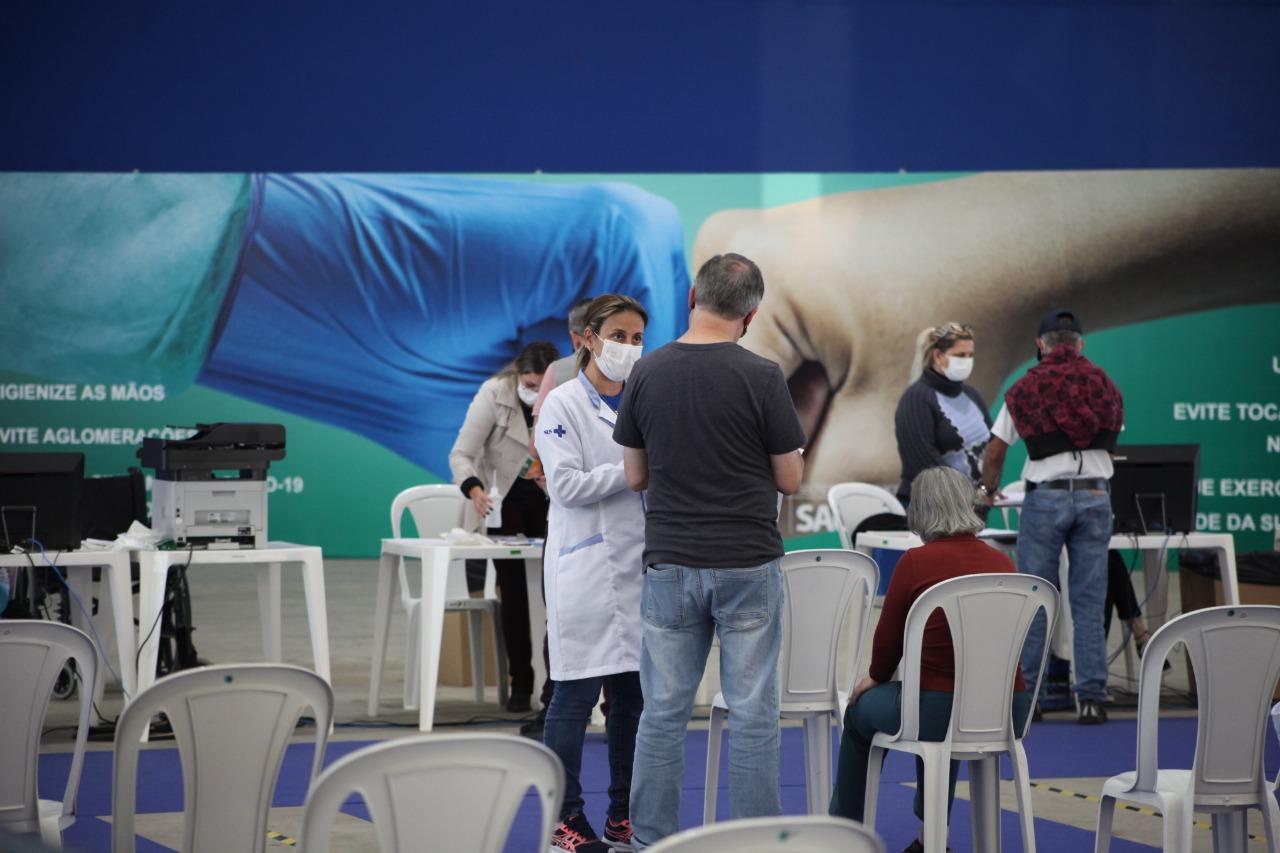 """""""Centreventos Itajaí"""": Confira os grupos prioritários que podem se vacinar contra Covid-19"""