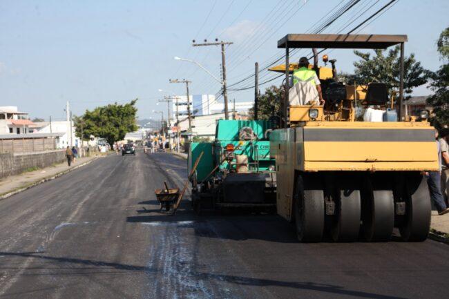 Novo asfalto e prolongamento contemplam melhorias na rua Agílio Cunha