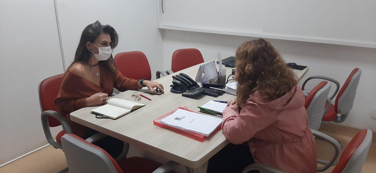 Deputada Paulinha empreende esforços para a reabertura do Hemosc de Canoinhas