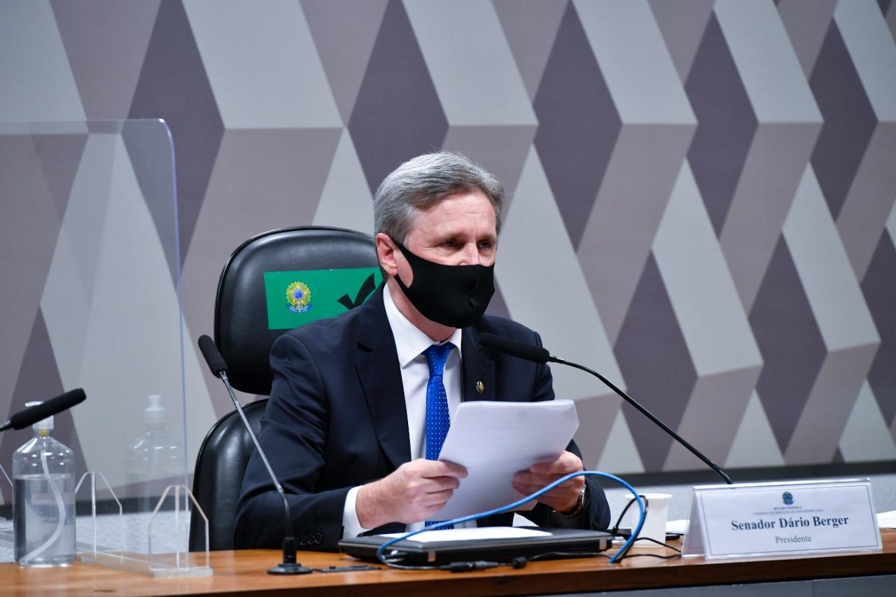 Desenvolvimento: Sob a presidência do senador Dário Berger, Comissão de Infraestrutura aprova indicados para Agências Reguladoras