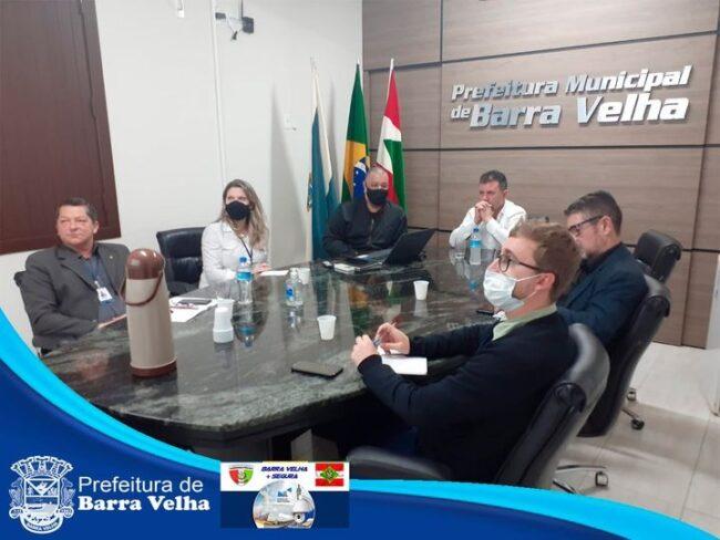 """""""Barra Velha + Segura"""": Prefeito Douglas reunido com Secretários de Segurança da região"""