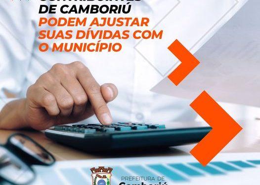 Contribuintes de Camboriú podem aderir ao PPI e garantir até 100% de descontos em juros e multas