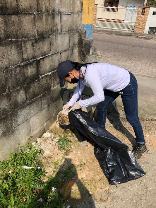Ação Contra a Dengue: Prefeitura Recolhe 200 Kg de lixo