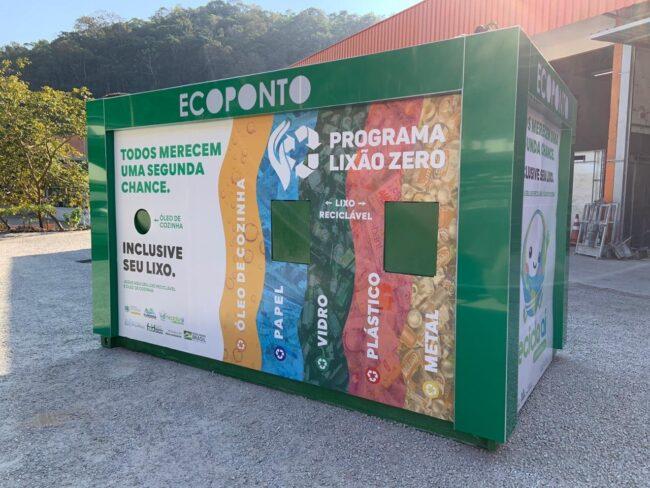 Coleta Seletiva de Balneário Piçarras recolhe 20 toneladas de recicláveis por mês