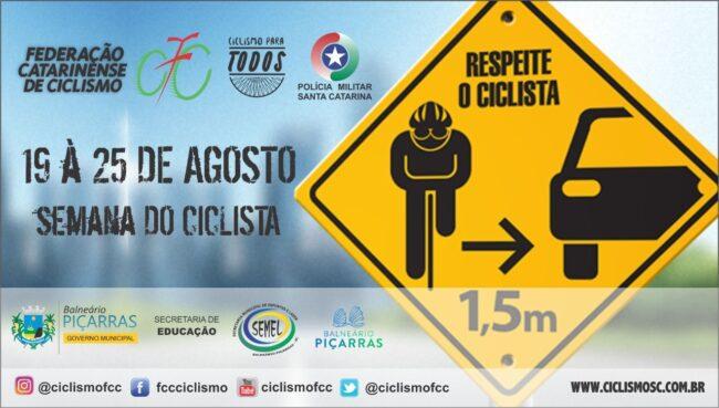 """""""Volta Ciclística"""": Balneário Piçarras promoverá Semana do Ciclista"""