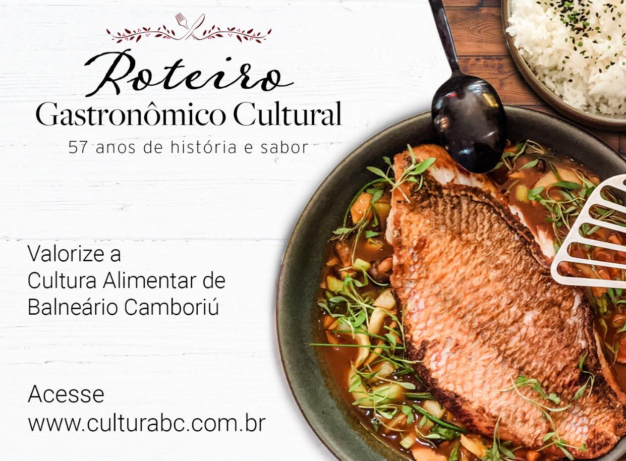 Roteiro Gastronômico Cultural de Balneário Camboriú começa neste sábado