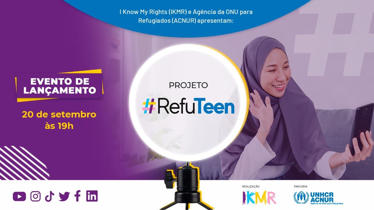 #RefuTeen: ACNUR e IKMR lançam projeto digital para jovens refugiados e migrantes