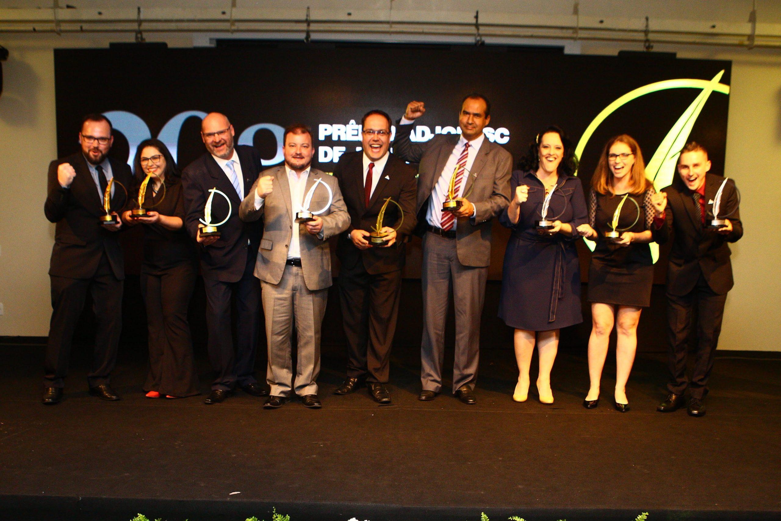 Vem aí o 22º Prêmio Adjori/SC de Jornalismo