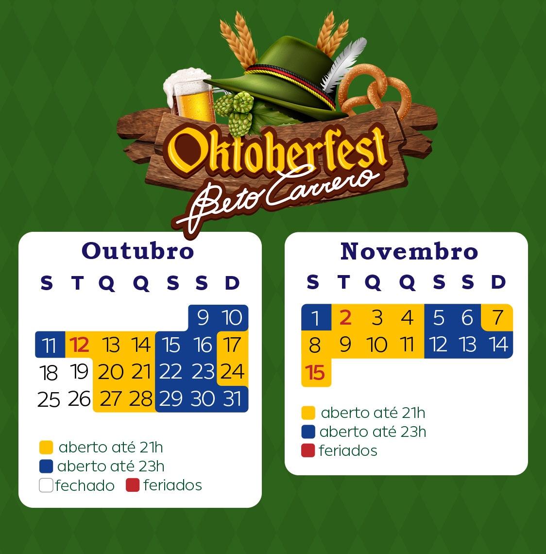 Fritz prepara o traje, veeem aí: Oktoberfest Beto Carrero!