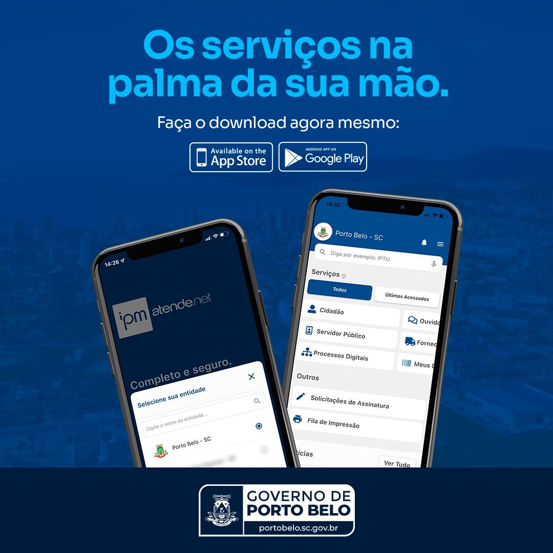 Porto Belo lança aplicativo de serviços ao cidadão