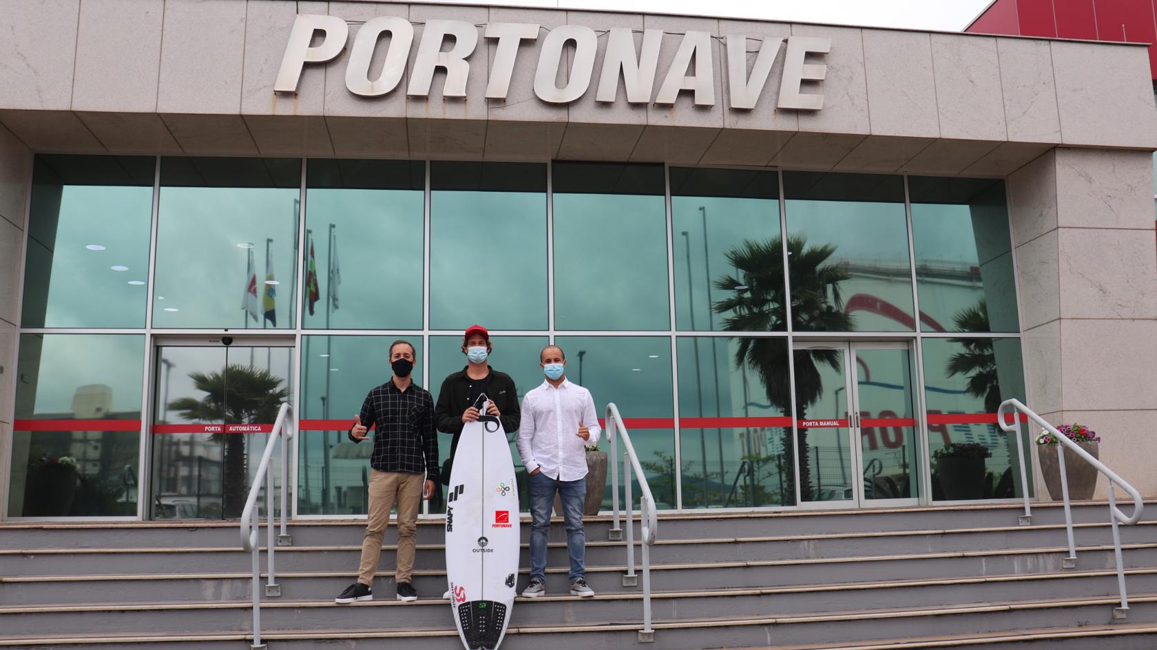 """""""Apoio ao Esporte"""": Portonave patrocina surf nacional"""