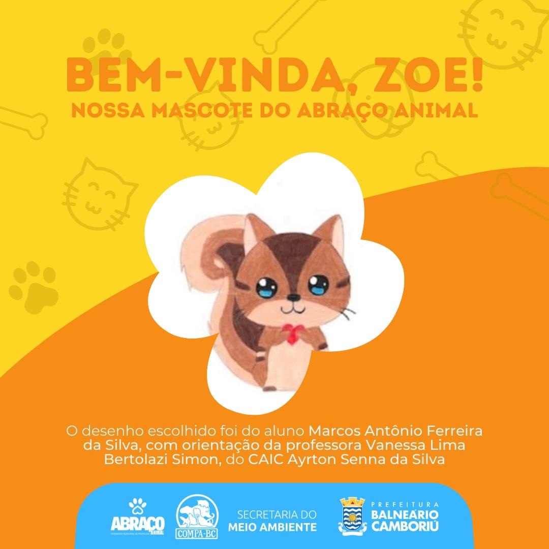 Programa Abraço Animal já tem uma mascote