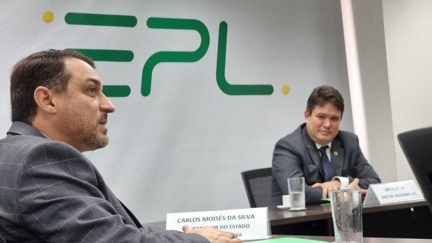 """""""Infraestrutura em SC"""": Em Brasília governador debate criação do plano de desenvolvimento para infraestrutura"""