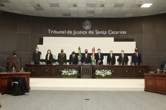 Homenagens no Pleno marcam as festividades dos 130 anos do Tribunal de Justiça de SC
